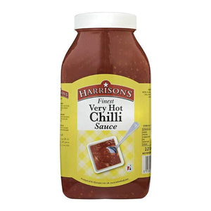 Very Hot Chilli Sauce 2.27 Litre (Case of 2) - Harrisons Sauces