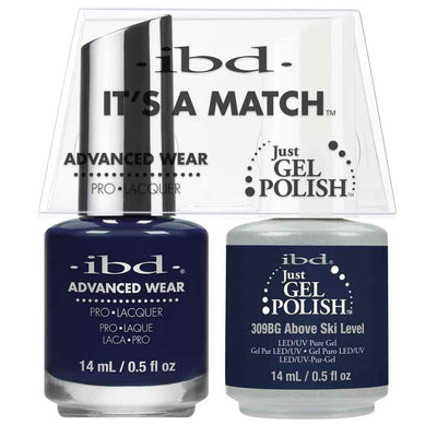 Just Gel Polish Above Ski Level Duo - Chalet Soiree 14Ml