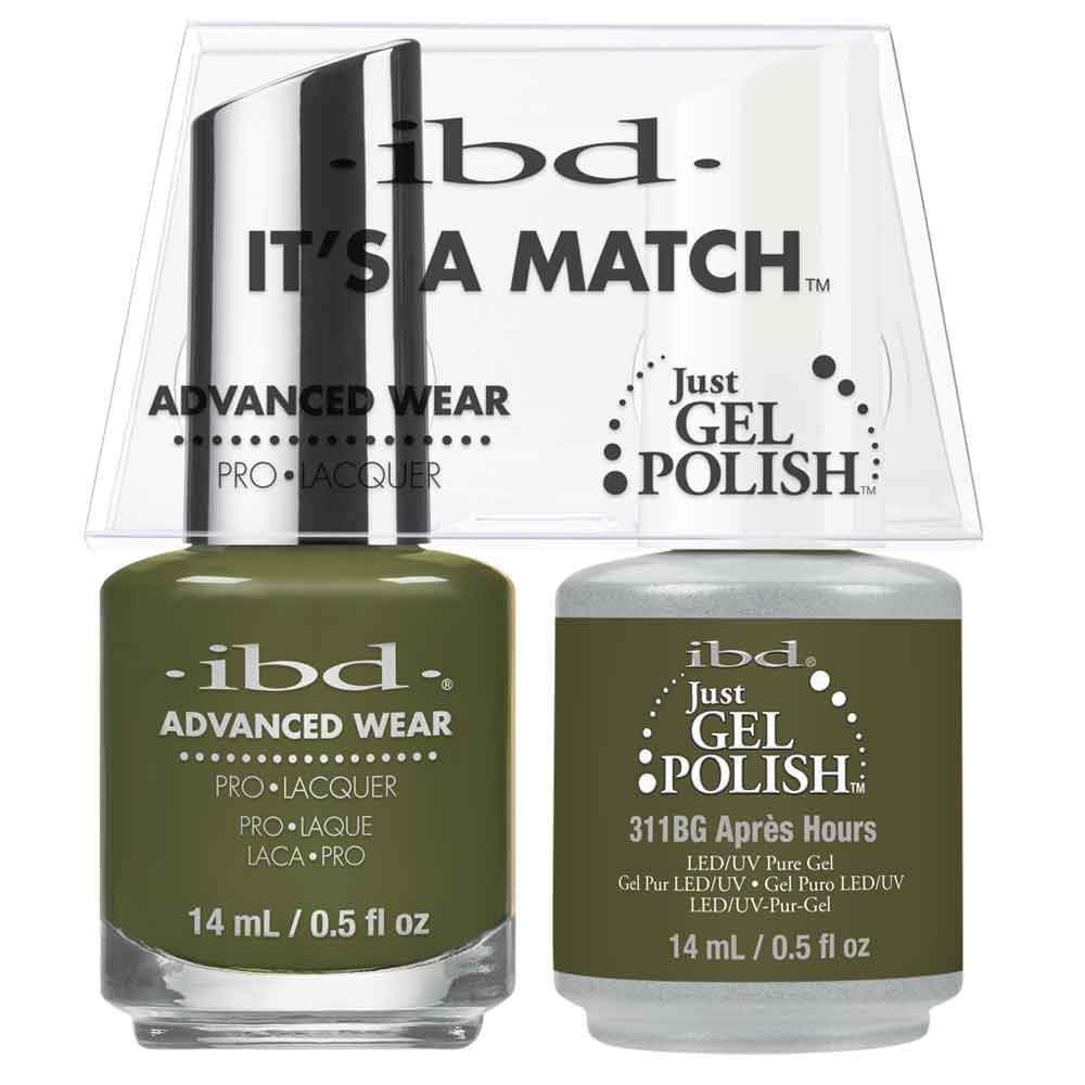Just Gel Polish Apres Hours Duo - Chalet Soiree 14Ml