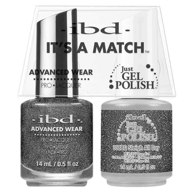 Just Gel Polish Sleigh All Day Duo - Chalet Soiree 14Ml