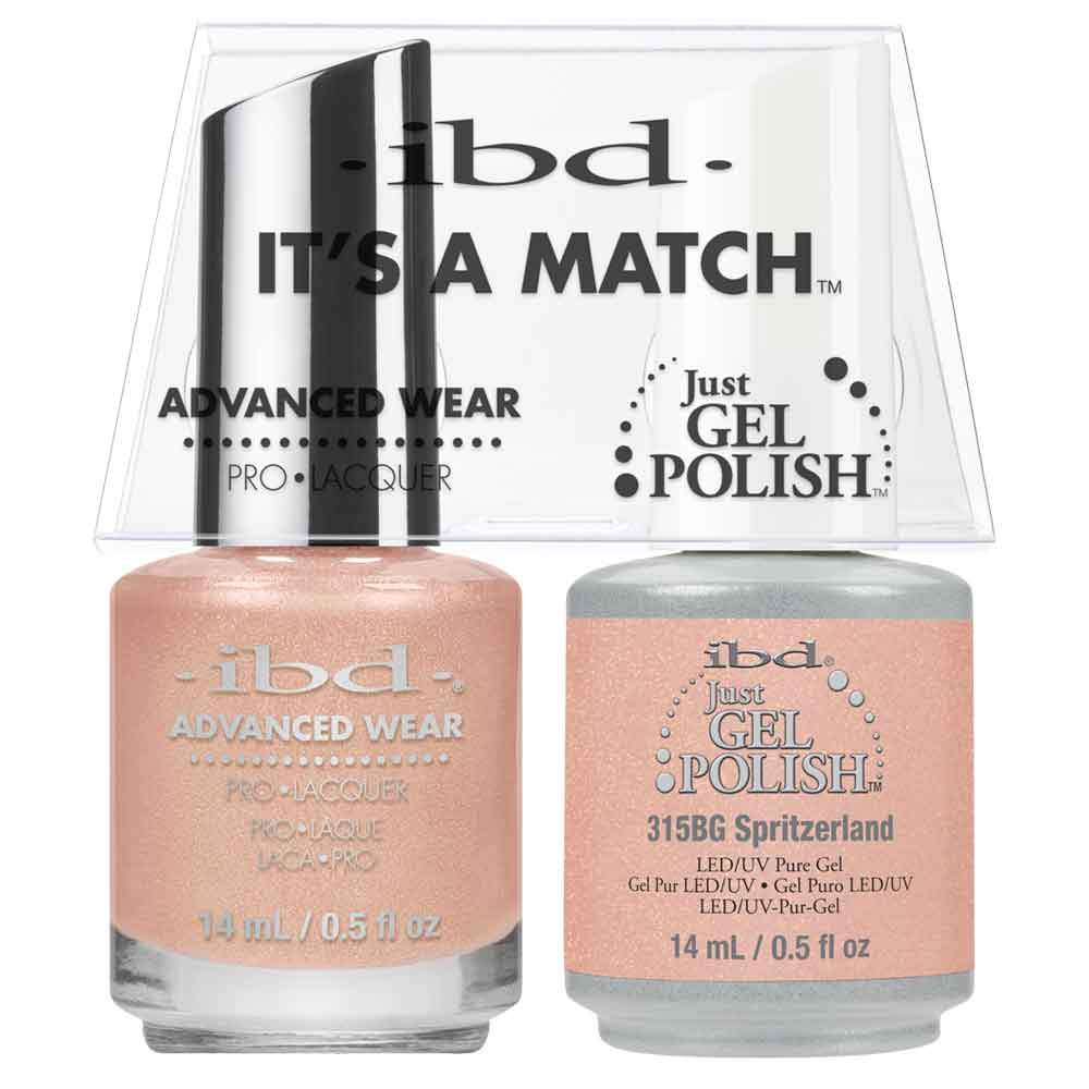 Just Gel Polish Spritzerland Duo - Chalet Soiree 14Ml