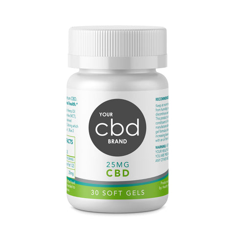 CBD Sleep Formulated Softgel Liquid Capsules