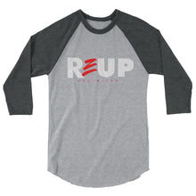 Load image into Gallery viewer, 3/4 sleeve reup raglan shirt