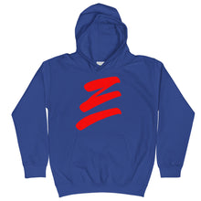 "Load image into Gallery viewer, ReUp ""E"" Kids Hoodie"
