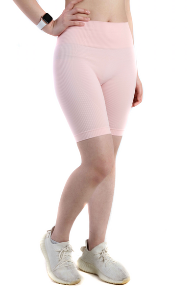 Vitality Gym Cycling Shorts | Candy Pink
