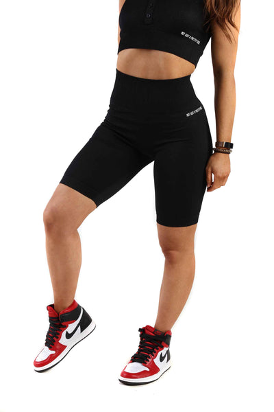 Vitality Gym Cycling Shorts | Obsidian Black