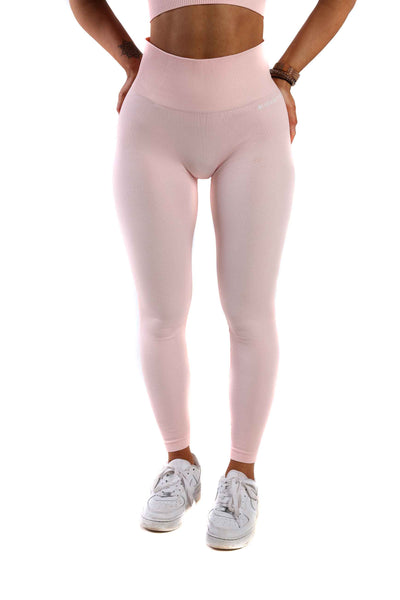 Vitality High Waist Gym Leggings | Candy Pink