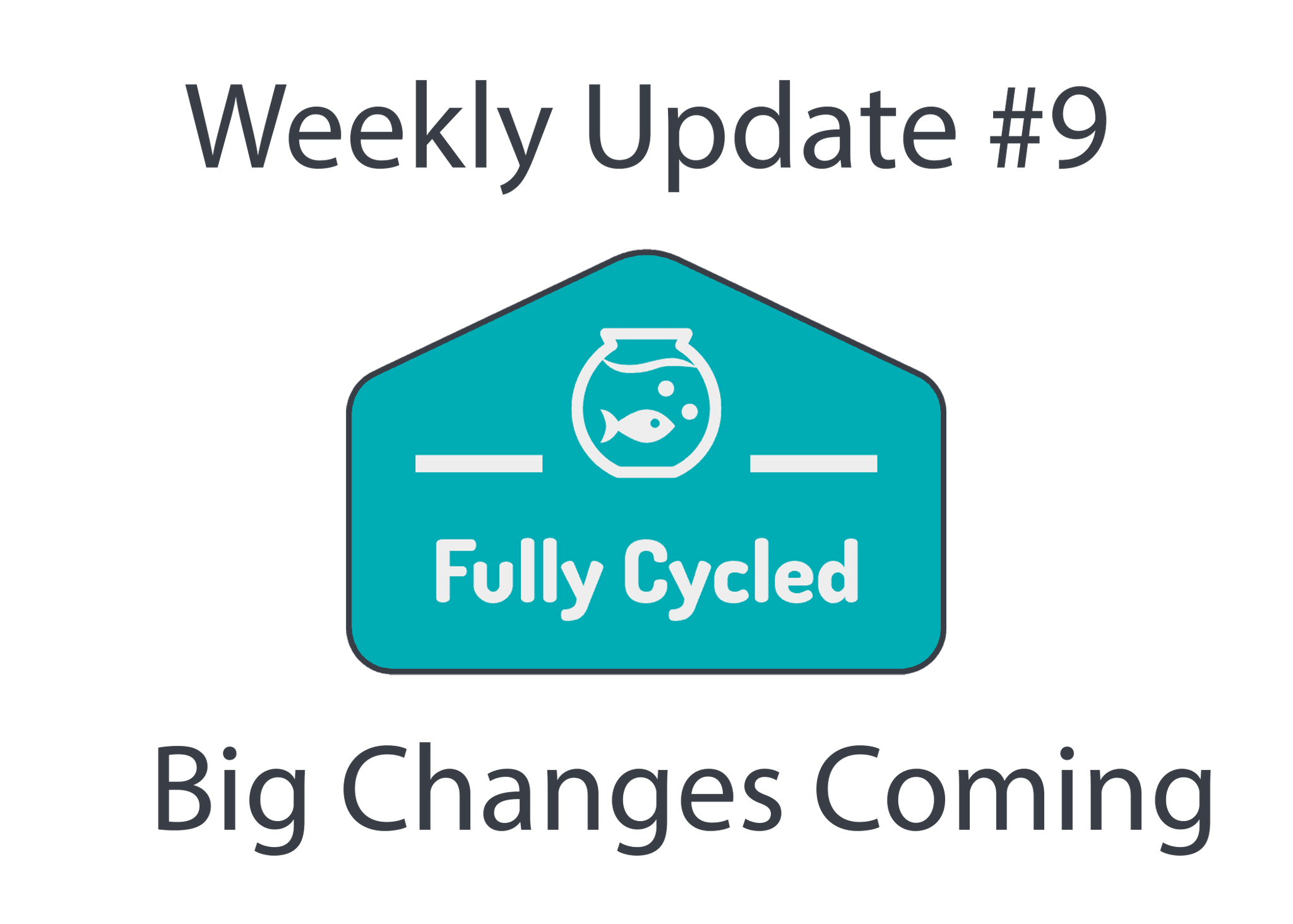 Weekly Update #9 - Big changes are coming