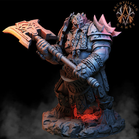 Fire Giant Skullcrushers - Archvillain Games, Magma Lords