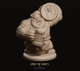 Dwarven Barkeep - Epics'N'Stuffs