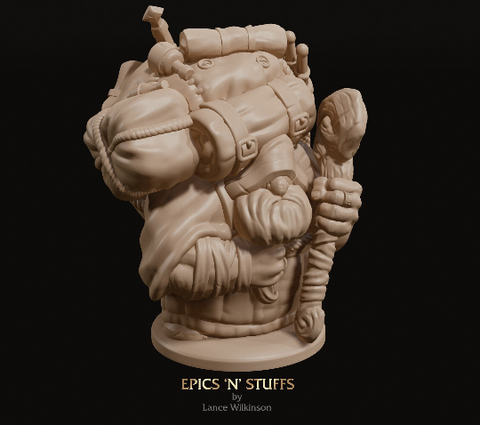 Dwarven Travelling Merchant - Epics'N'Stuffs