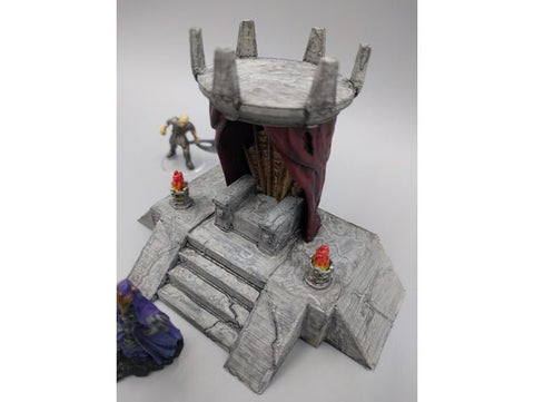 Lich King Throne 28mm scale - EC3D 3D Printed Miniature