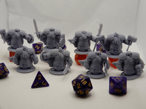 Dwarf Infantry Complete Set - Epics'N'Stuffs