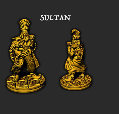 Sultan - EC3D - Empire of the Scorching Sands