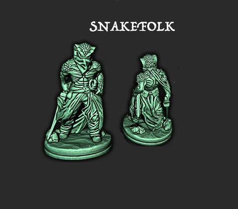 Snakefolk 4 - EC3D - Empire of the Scorching Sands