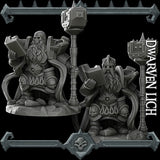 Dwarven Lich - Rocket Pig Games