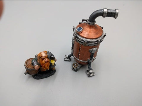 Spirit Still - Dwarven AleWorks - 28mm