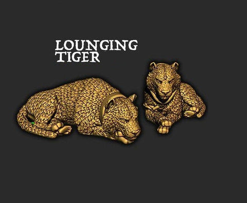 Lounging Tiger - Ec3D