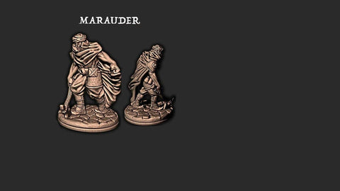 Marauder 3 - EC3D - Empire of the Scorching Sands