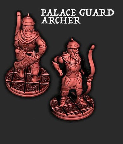 Palace Guard Archer - EC3D - Empire of the Scorching Sands