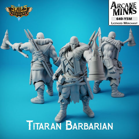 "Titaran Barbarian - Carren Pirates €"" Skies Of Sordane"