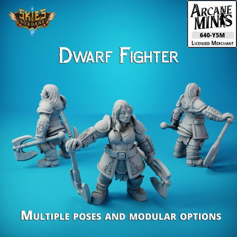 Dwarf Fighter - Merchant Guilds - Skies Of Sordane