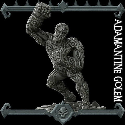 Adamantine Golem - Rocket Pig Games