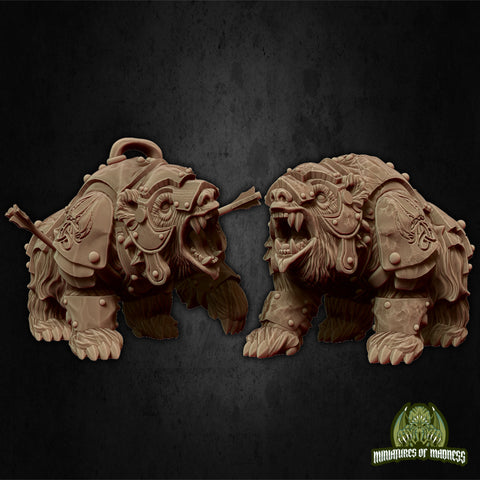 Warbear- Hold My Dwarf - Miniatures of Madness