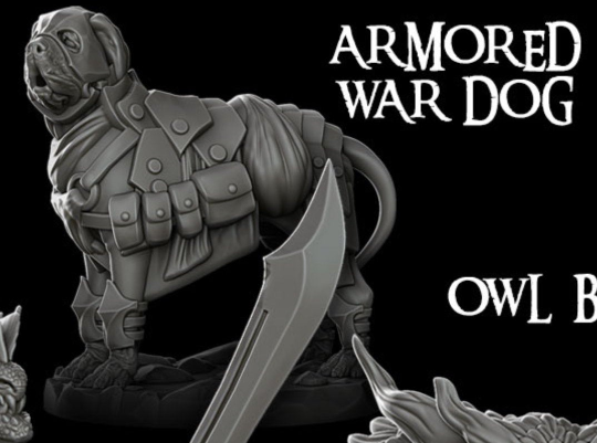 Armored War Dog - Rocket Pig Games