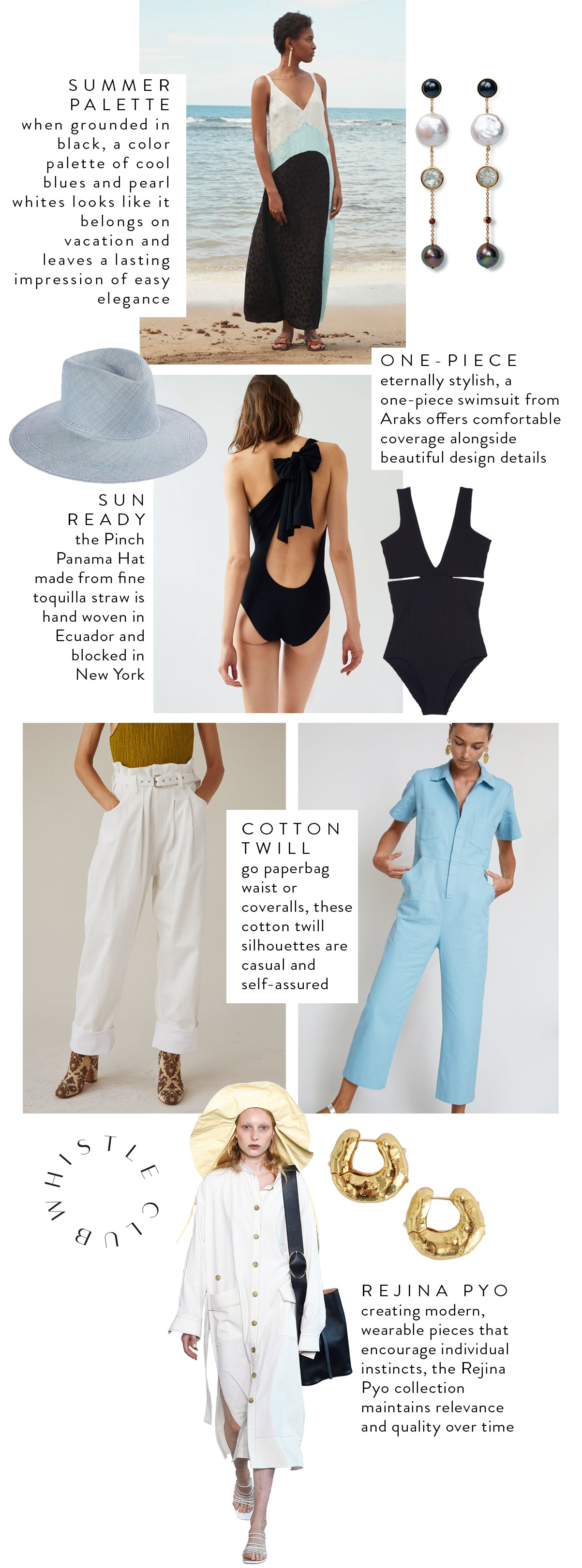 WHAT TO WEAR | OUR SUMMER EDIT