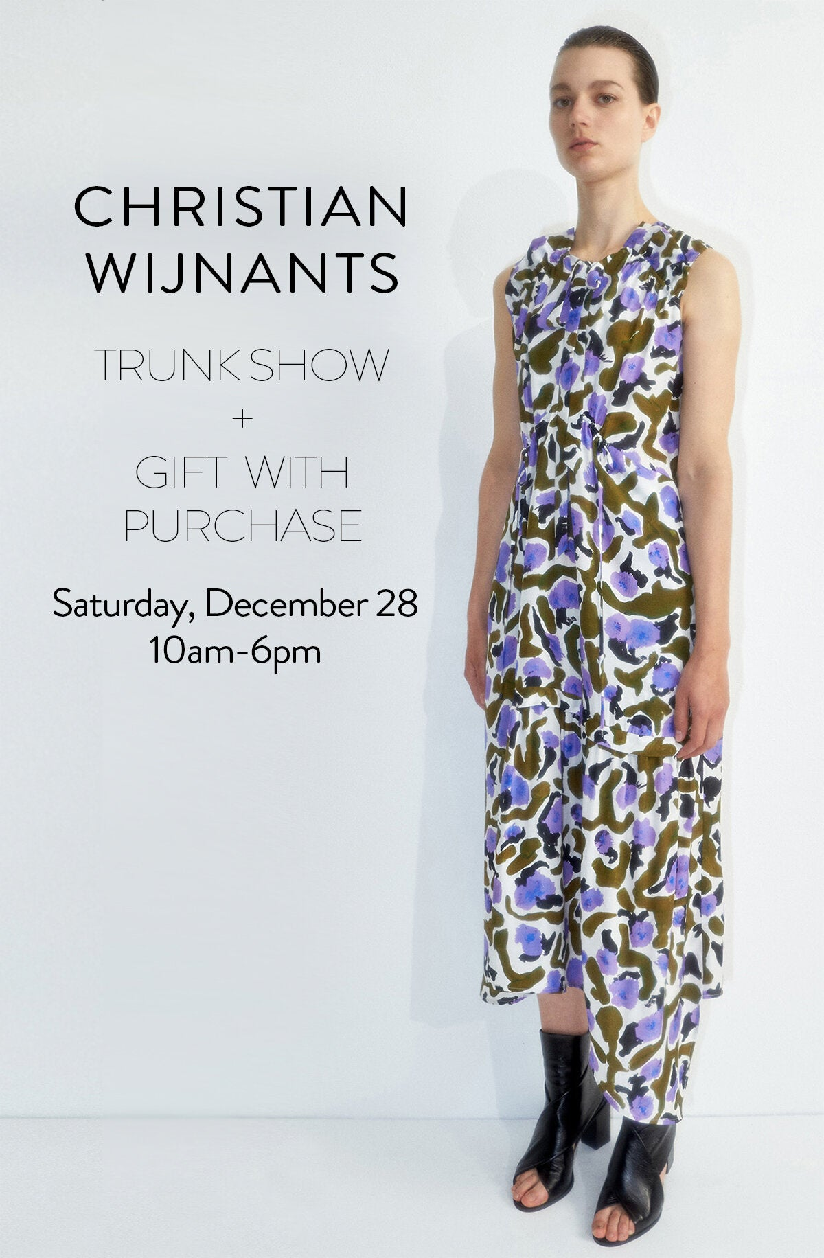 CHRISTIAN WIJNANTS TRUNK SHOW