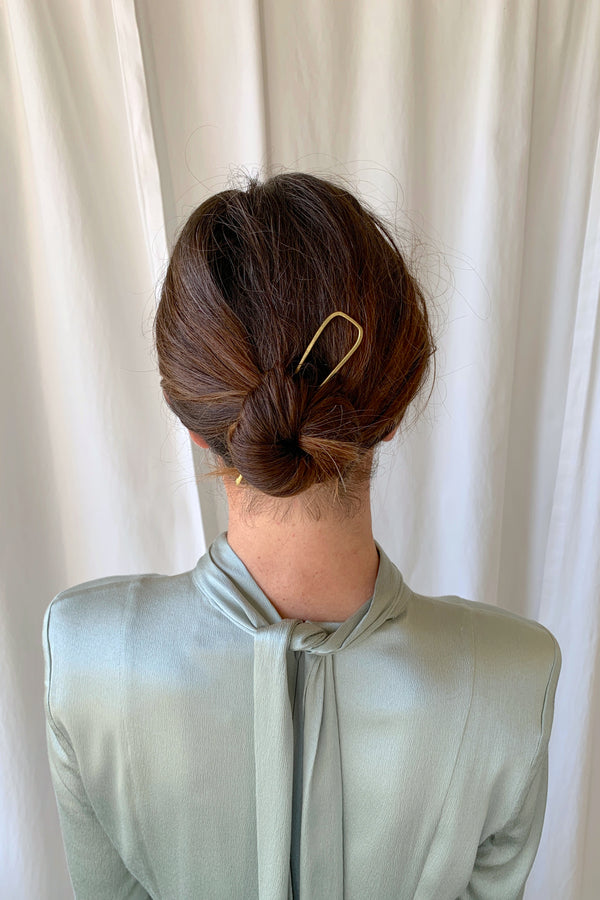 Mesa Brass Hair Pin