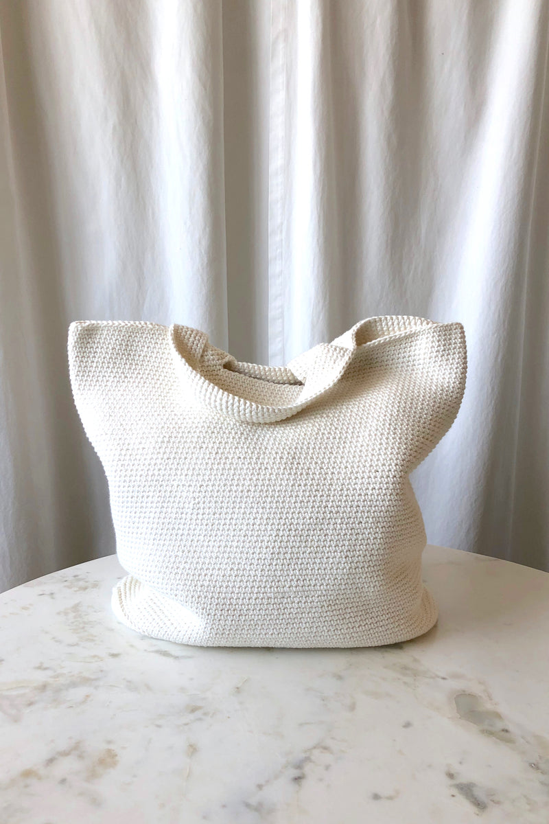 Big Oval Bag Chalk