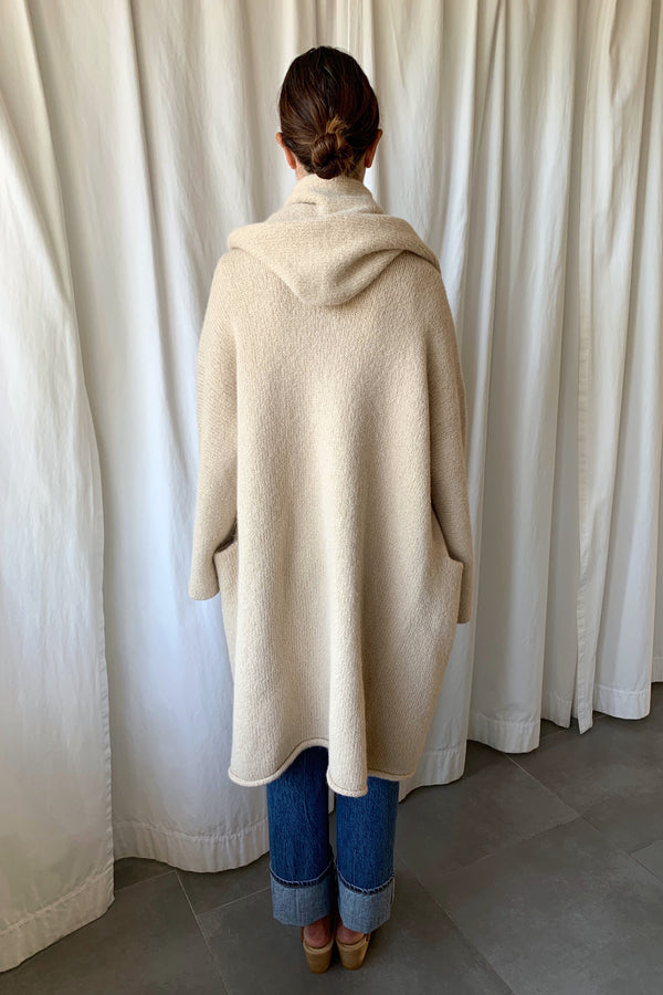 Capote Coat in Antique