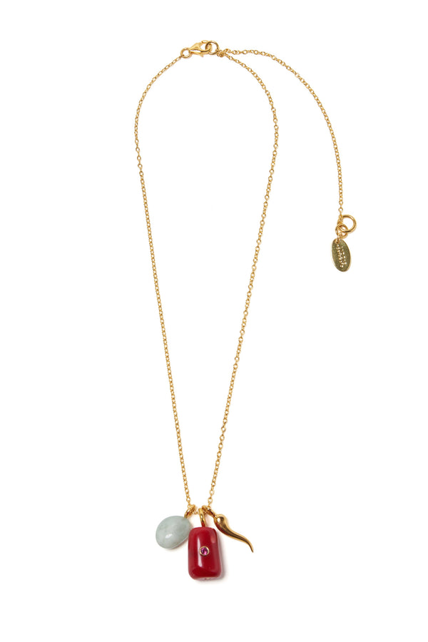 Coral Oasis Necklace