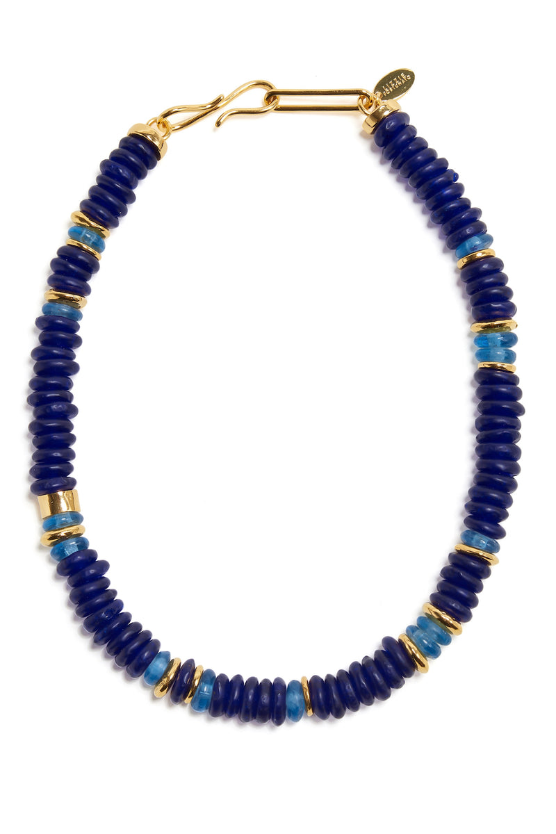 Laguna Necklace in Cobalt