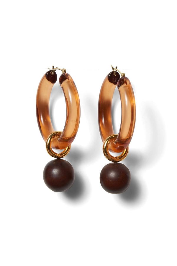 Spritz Hoops in Caramel
