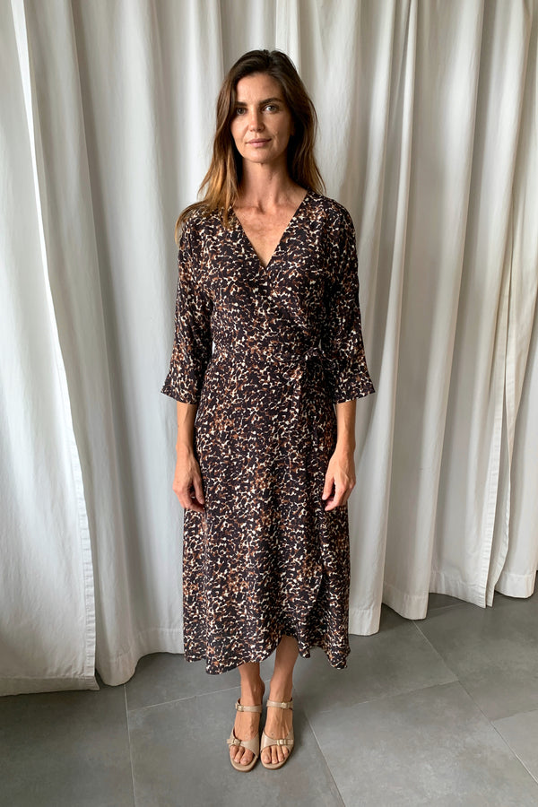 Georgia Wrap Dress