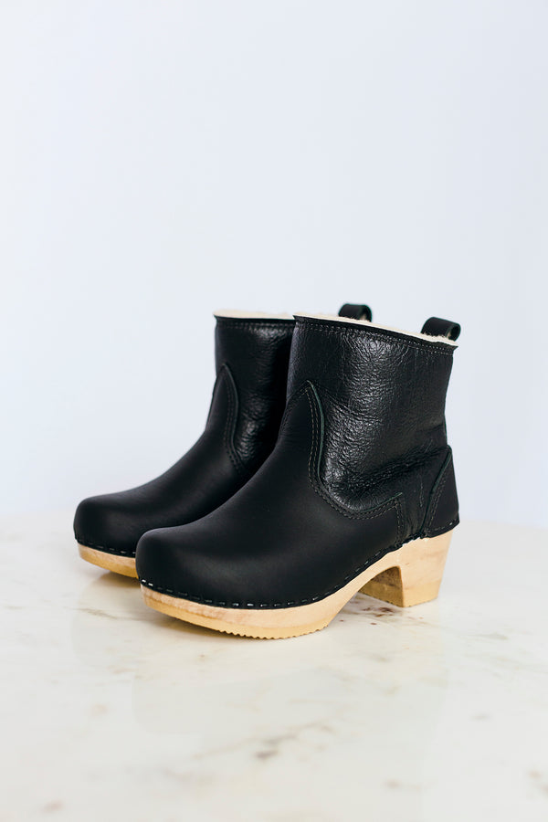 Ink Shearling Boot