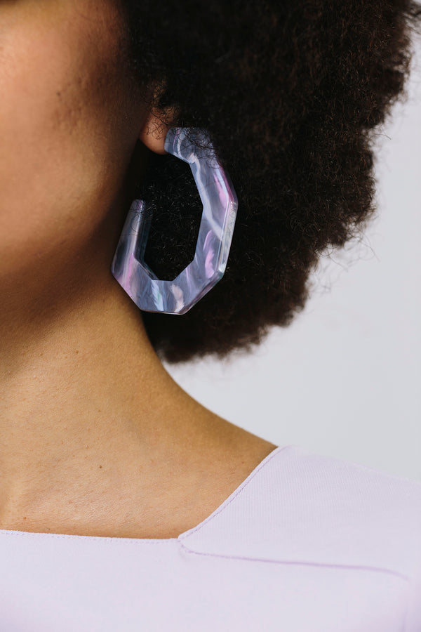Factor Earring Slate