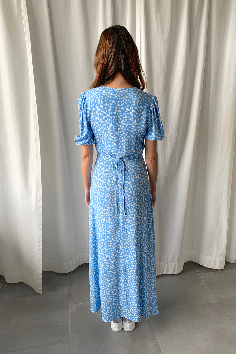 Staci Dress Blue Floral