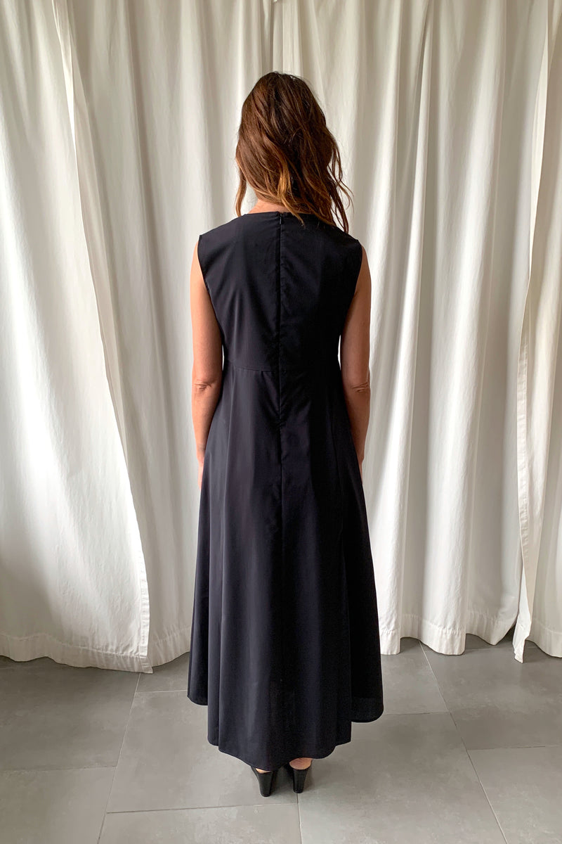 Dark Navy Dress