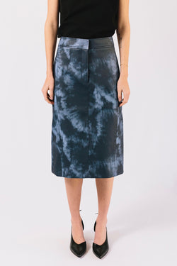 Tie Dye Pencil Skirt