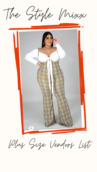Plus Size Vendor List