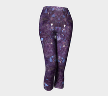 "Load image into Gallery viewer, ""Capri"" Purple Amethyst Eco Poly Crystal Statement Leggings"