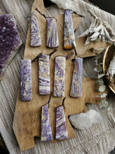 Load image into Gallery viewer, Petrified Fluorite Crystal Gemstone Talismans