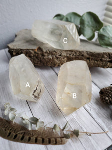 High Vibrational Golden Healer Quartz