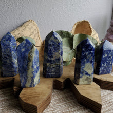 Load image into Gallery viewer, Natural Blue Sodalite Pillars