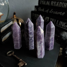 Load image into Gallery viewer, Natural Purple Lepidolite Towers