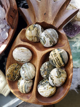 Load image into Gallery viewer, Natural Ocean Jasper Gemstone Palmstones